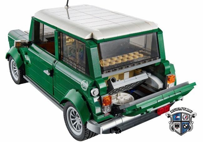 Mini Cooper из конструктора Lego новости Bmw Bmw всё о Mini