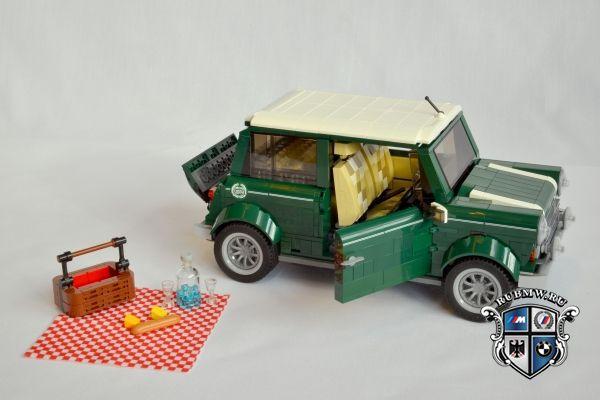 Mini Cooper из деталей Lego новости Bmw Bmw всё о Mini Cooper