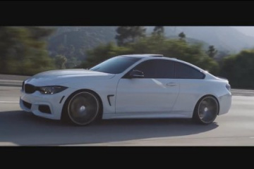 BMW 428i Coupe M Sport на дисках Vossen BMW 4 серия F32