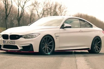 BMW M4 JP Performance на дисках Vossen BMW 4 серия F82-F83
