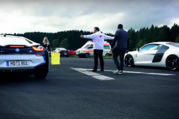 BMW i8 vs AUDI R8 Plus BMW BMW i Все BMW i