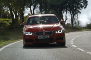 BMW 335i M Sport vs. Jaguar XE S BMW 3 серия F30-F35