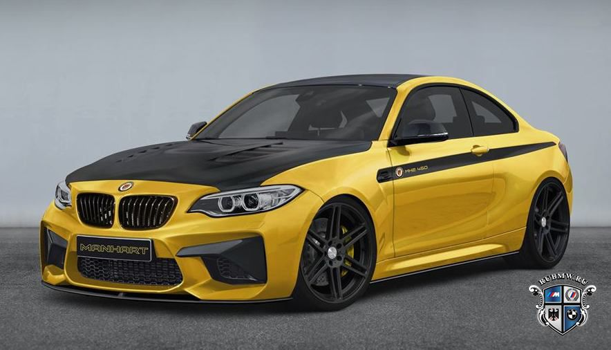Тюнеры из Manhart Racing прокачали BMW M2