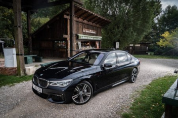 BMW 730Ld M Sport в цвете Carbon Black Metallic BMW 7 серия G11-G12