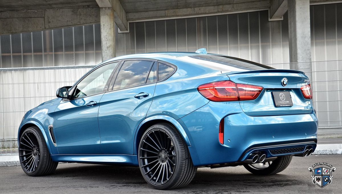 BMW X6 M в доводке от DS Automobiles & Auto Works
