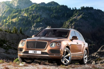 В 2016 году дебютирует Bentley Bentayga Coupe BMW Другие марки Bentley