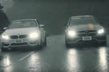 Mercedes C63 AMG vs BMW M3 BMW 3 серия F80