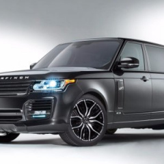 Range Rover Autobiography London Edition от ателье Overfinch