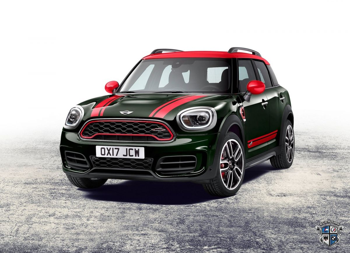 Новый MINI JCW Countryman попадет на российский рынок в конце 2017 года