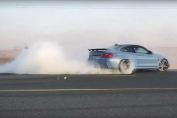 BMW M4 Drifting BMW 4 серия F82-F83