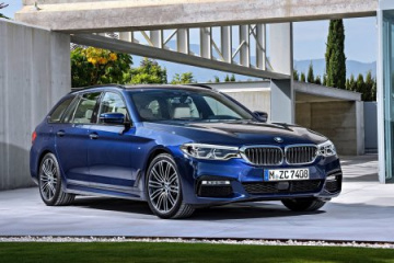 Новый BMW 5 Series Touring презентуют в марте BMW 5 серия G31