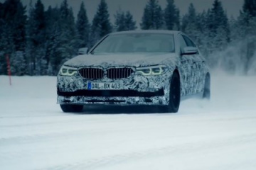 Новый седан ALPINA B5 Bi-Turbo (Видео) BMW 5 серия G30