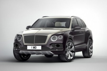 Bentley Bentayga Mulliner представят в Женеве BMW Другие марки Bentley