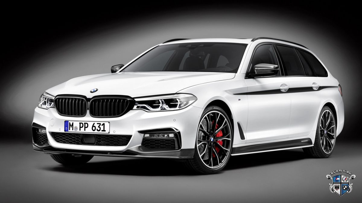 В Женеве показали BMW 5 Series Touring с пакетом M Performance