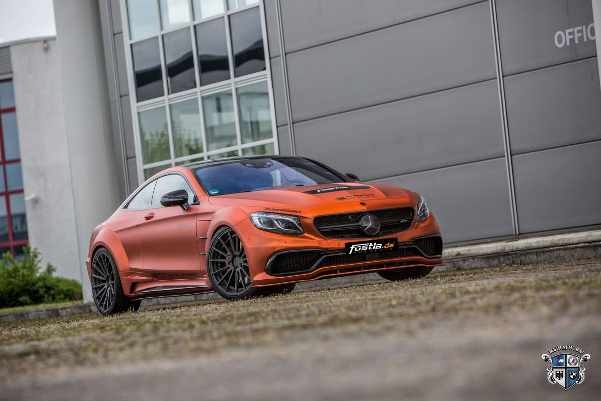Mercedes-AMG S 63 Coupe Combat Monster: 740-сильное купе в исполнении Prior Design, Fostla и PP-Performance
