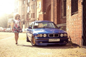 Замена опор задних стоек BMW E34 BMW Gran Coupe