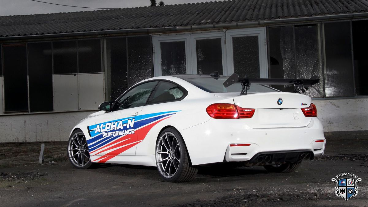 BMW M4 от Alpha-N Performance