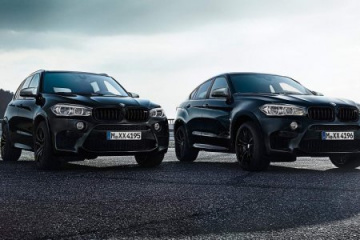 BMW X5 M и BMW X6 M Black Fire Edition BMW X5 серия F85