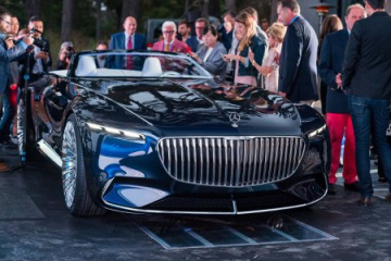 Maybach 6 Cabriolet BMW Другие марки Mercedes