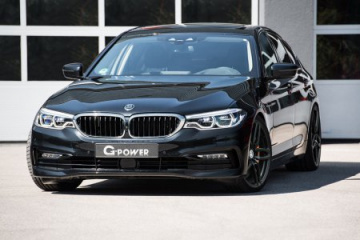 G-Power BMW 5 Series получил Quad Turbo дизель с 460 л.с. BMW 5 серия G31