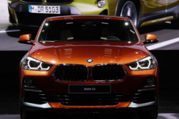 BMW X2 F39 xDrive28i Sunset Orange: двойная премьера на NAIAS 2018 BMW X2 Серия F39