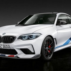 Самая быстрая BMW M2 Competition с комплектом М Performance