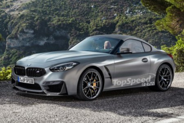 Новый дизайн для двухместного BMW Z4 M Coupe 2020 BMW Z серия Все BMW Z