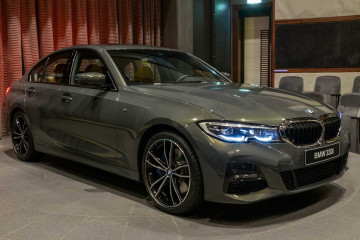 BMW Абу-Даби Моторс получил первые BMW 3-й серии G20 2019 в цвете Dravite Grey Metallic BMW 3 серия G20-G21