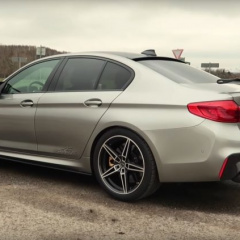 BMW M5 Competition от AC Schnitzer с табуном под капотом в 720 лошадей