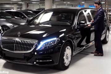 Mercedes-Maybach S600 Pullman Guard за 1,4 миллиона евро BMW Другие марки Mercedes