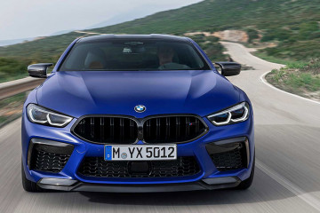 Новый BMW M8 Coupe 2020