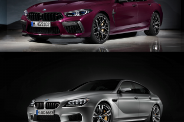 BMW M8 Gran Coupe (F93) и BMW M6 Gran Coupe (F06M) - ищем отличия! BMW M серия Все BMW M