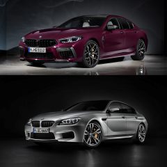 BMW M8 Gran Coupe (F93) и BMW M6 Gran Coupe (F06M) - ищем отличия!