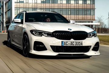 BMW 3 серии Touring G21 с 315 л. с. от AC Schnitzer BMW Gran Coupe