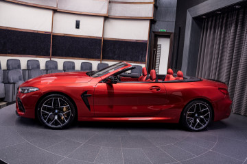 Новый BMW M8 Competition Convertible (F91) в цвете Motegi Red BMW M серия Все BMW M