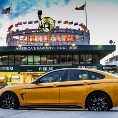 BMW 4-й серии Gran Coupé в цвете Speed Yellow