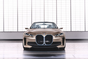 Премьера: BMW Concept i4 Electric Gran Coupe BMW BMW i Все BMW i