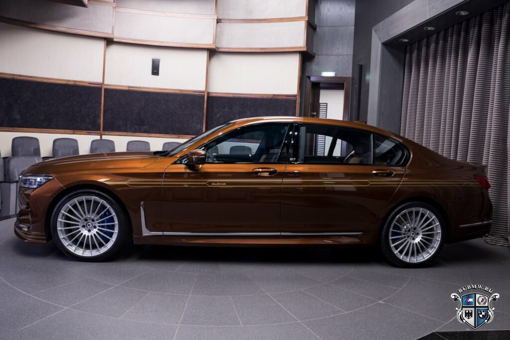 BMW Alpina B7 LCI Biturbo Facelift от BMW Abu Dhabi Motors