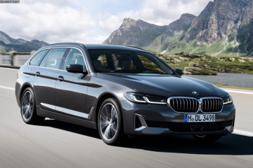 Премьера: BMW 5 Series Touring G31 LCI BMW 5 серия G31