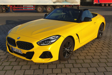BMW Z4 M40i в пленке Gloss Bright Yellow BMW Z серия Все BMW Z