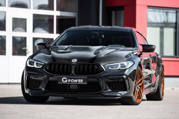 808 сильный BMW M8 Gran Coupe от G-Power