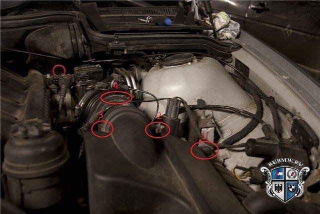 клапан вентиляции картера bmw e 46 316