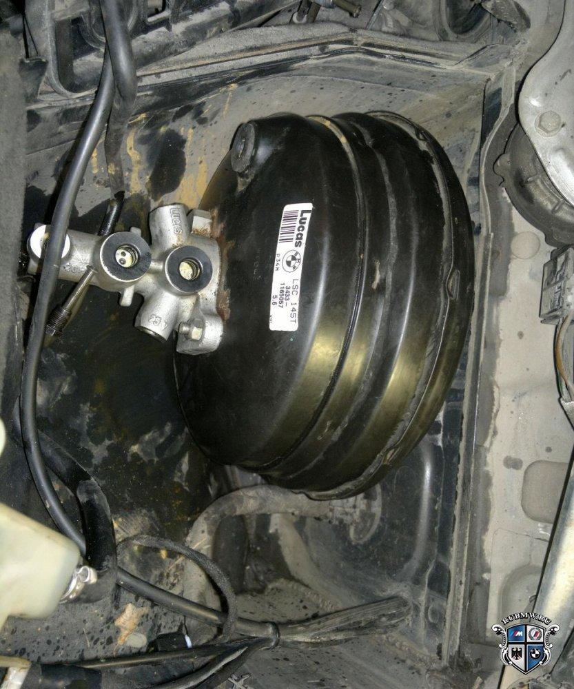 проваливается педаль тормоза на BMW e39