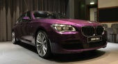 Экслюзивный BMW 760Li в цвете «Twilight Purple» от BMW Abu Dhabi Motors BMW 7 серия F01-F02