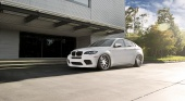 BMW X6 M на дисках Avantgarde F410 SPEC2 BMW X6 серия E71