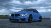 BMW M4 на дисках Vossen Forged VPS-301 BMW 4 серия F82-F83