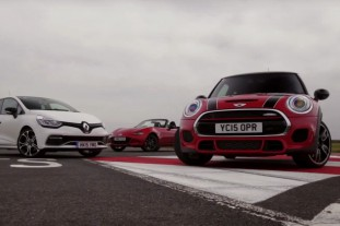 Mini Cooper S JCW vs. Toyota GT 86 vs. Mazda MX-5 vs. Renault Clio RS 220 Trophy :: BMW Всё о MINI COOPER Все MINI