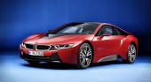 В Женеве покажут BMW i8 Protonic Red Edition BMW BMW i Все BMW i