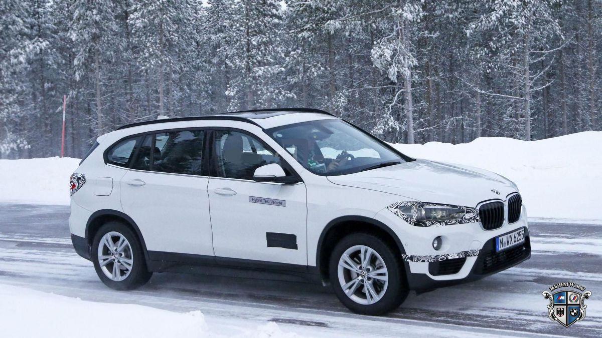 Гибридный BMW X1 заканчивает тесты