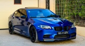 BMW M5 от ателье Manhart Performance BMW 5 серия F10-F11
